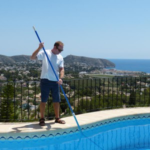 pool care in Moraira